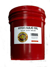 Hecht Hydraulic Oil Aw Iso 32 10w 5 Gallons