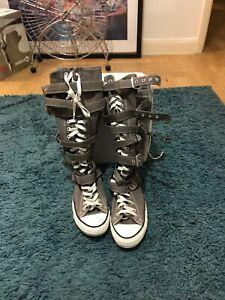 converse boots uk 8 | eBay