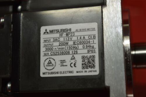 MITSUBICHI AC SERVO MOTOR HF-MP23