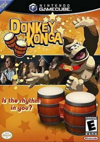 1 of 1 - DONKEY KONGA GAMECUBE/WII GAME *RARE* *NEW & SEALED* BONGOS COMPAT. AUS EXPRESS