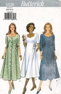 9b9957da188 Image is loading Butterick-Misses-039-Petite-Maternity-Dress-Pattern-3328-
