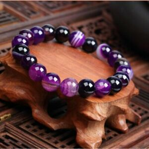 Fashion-Natural-Stone-Beads-Bracelet-Men-Women-Agate-Bangle-Casual-Jewelry-Gifts