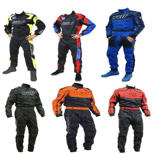 Wulfsport Proban Racing suit plus nomax gloves BANGER RALLY KART STOCK QUAD CAR