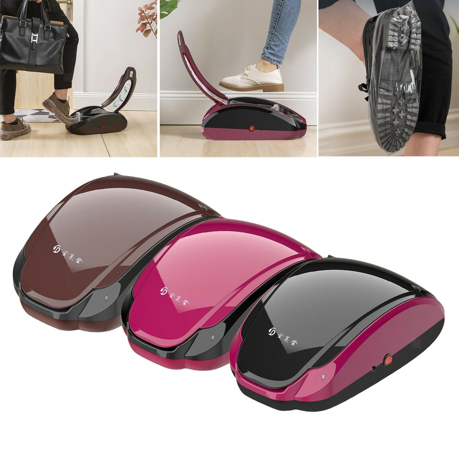 Automatic Shoe Cover Dispenser w / Roll 400 PIECES Waterproof