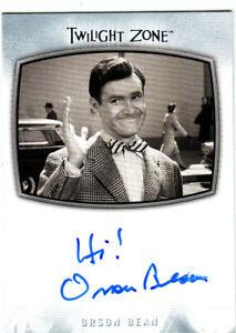 2020 The Twilight Zone Archives Orson Bean Inscription Autograph AI-27