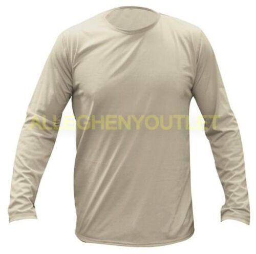 USGI Peckham Gen III ECWCS Light Weight LS Thermal Undershirt Sand Many Sizes LN
