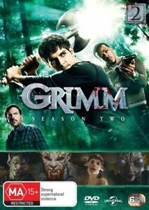 Grimm-Season-Two-2-Second-DVD-NEW-Region-4