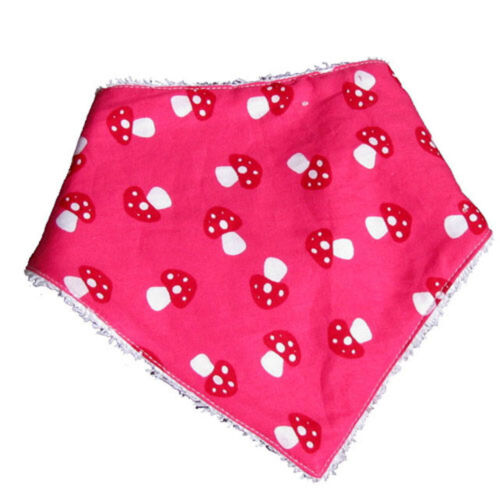 Farbgewitter Tuch Halstuch Spucktuch Sabbertuch pink hellgrün lila Frottee NEU