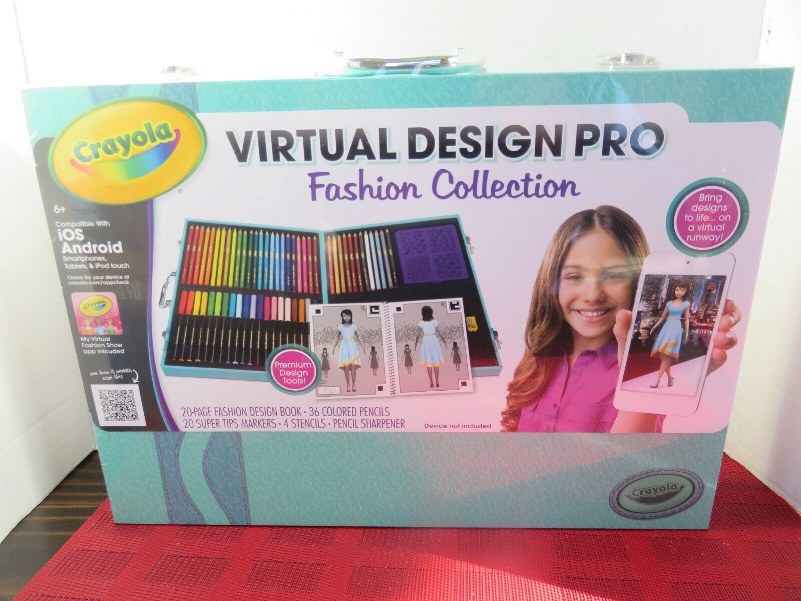 Crayola Virtual Design Pro Fashion Set Craft Mytoddler For Sale Online Ebay
