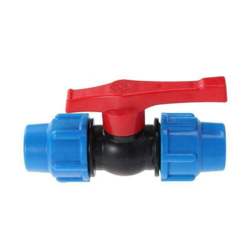 Stop Tap Valve For HDPE Or Alkathene Water Pipe Compression Ends 20mm to 32mm