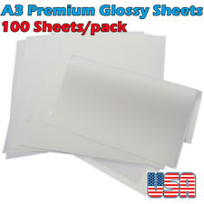 Us Stock A3 117 X 165 Cold Peel Dtf Transfer Film 100 Sheetspack