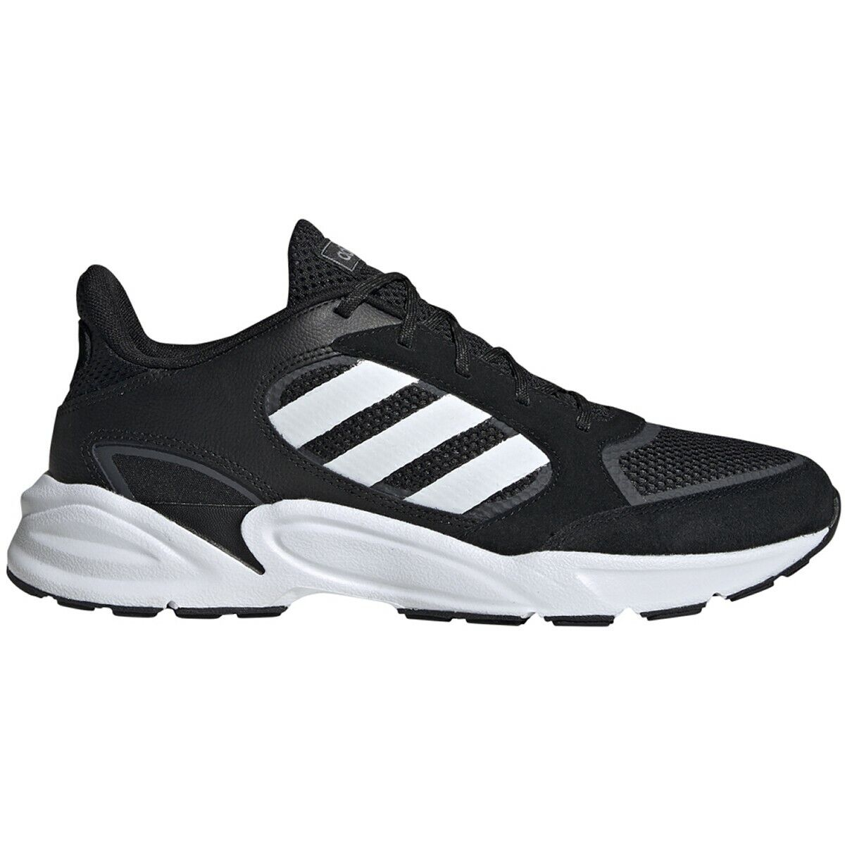 online store buy good huge inventory Mens Adidas 90's Valasion Black Sneaker Athletic Sport Shoe EE9892 Size 9-12