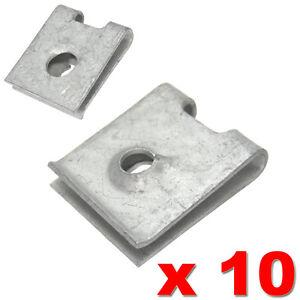 AUDI-VW-SEAT-SKODA-SPIRE-CLIP-SPEED-U-NUT-CLAMP-4-8mm-N0154581-ANTI-RUST-COATING