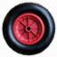 """Foro 16MM 16/"""" RUOTA pneumatica carriola//carrello da lancio PNEUMATICO 4.80//4.00-8"""