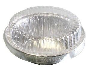4 Quot 5 Oz Aluminum Foil Mini Pot Pie Food Tart Pan 1 3 8