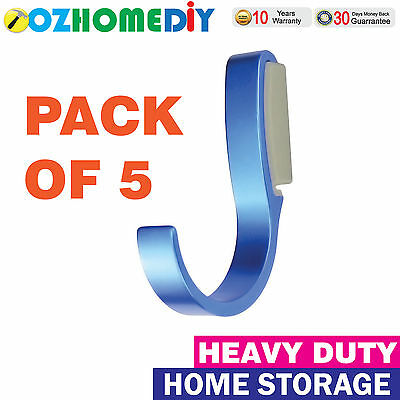 KENOVO DuraTrax GSH21 Wall Storage Hook With Mounting - Pack of 5