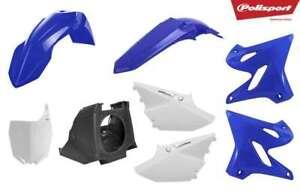 Polisport Fender Plastic Kit Set BLUE YAMAHA YZ125 YZ250 YZ 125 250 1996-1999