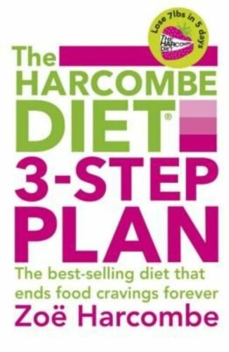 1 of 1 - The Harcombe Diet 3-step Plan, Harcombe, Zoë | Paperback Book | Good | 978144476