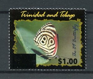 Trinidad-amp-Tobago-2017-neuf-sans-charniere-89-Papillon-Ovpt-1-V-Set-BUTTERFLIES-STAMPS