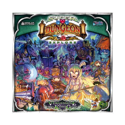 Super Dungeon Explore - the Forgotten King Miniature Game - German