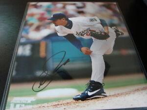 Chan-Ho-Park-Autograph-Signed-8x10-Photo-Los-Angeles-Dodgers