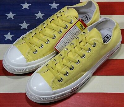 CONVERSE Chuck Taylor ALL STAR OX 70 SAMPLE Shoe Yellow Gold White [160494C] 9 | eBay