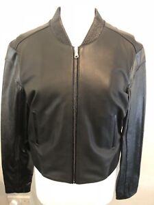 Bomber Leather Womens Black 12 In Jesse Attribute Size Jacket 4UPwpIq