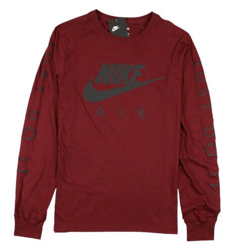 larga Sz manga Air de logo Max Nike Reflective Camiseta S 400007323261 con Burgundy negro Small qT4nR