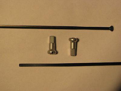 DT Swiss Aero Comp straight pull & j-bend 240-306mm black spokes Spline
