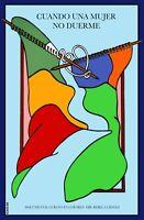 8336.cuando Una Mujero No Duerme.cuban Film.poster.movie Decor Graphic Art
