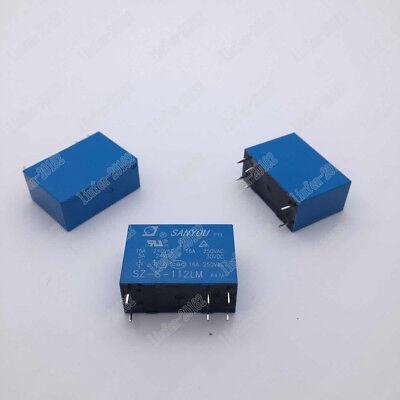 10pcs  new  Sanyou relay  SRU-S-112LM