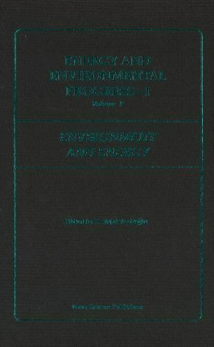Energy and Environmental Progress 1 Vol. F : Environment and Energy-ExLibrary