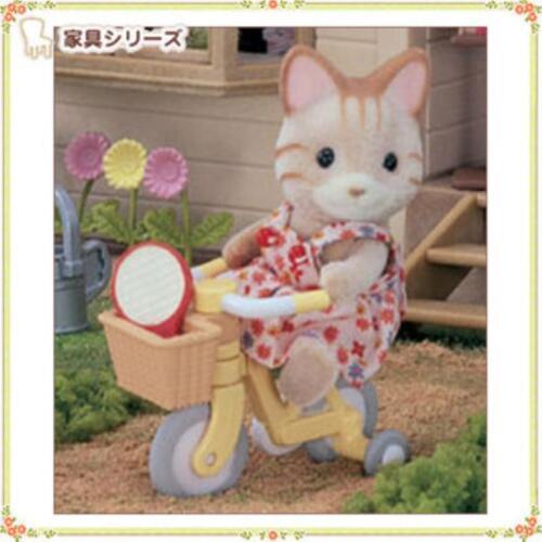 Sylvanian Families Calico Critters Dolls Animals Bicycle for Kid Ka-306 Japan