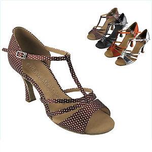 b584ed358 Women's Salsa Ballroom Tango Wide Width Dancing Dance Shoes Very ...
