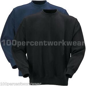 Blackrock-Baratec-Work-Heavyweight-Sweatshirt-Jumper-Sweater-Plain-Polycotton