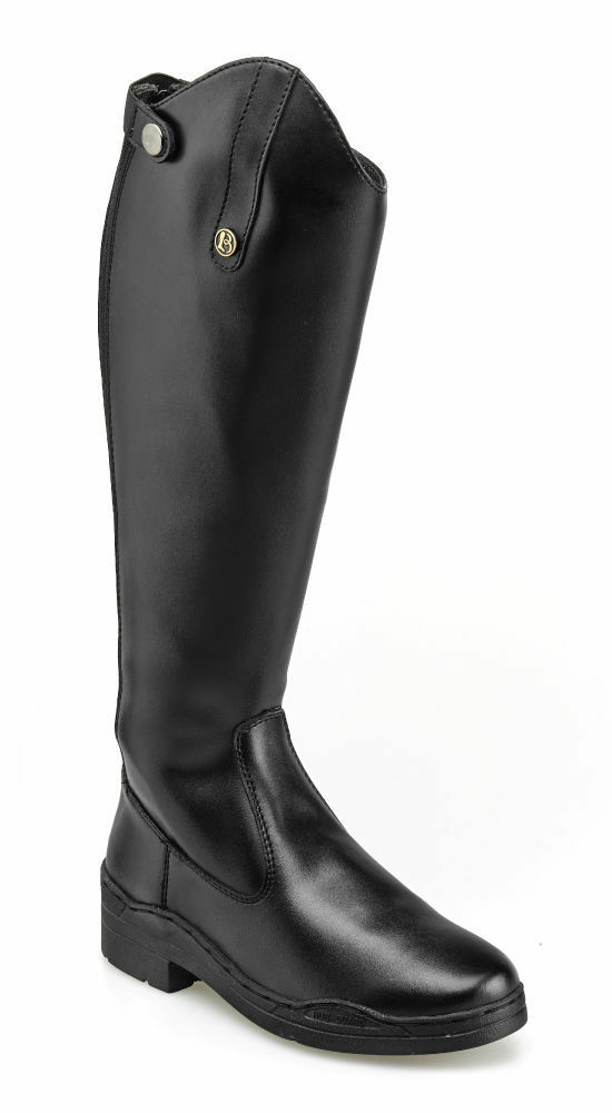 BROGINI MODENA ADULTS EXTRA WIDE SYNTHETIC LONG RIDING BOOTS