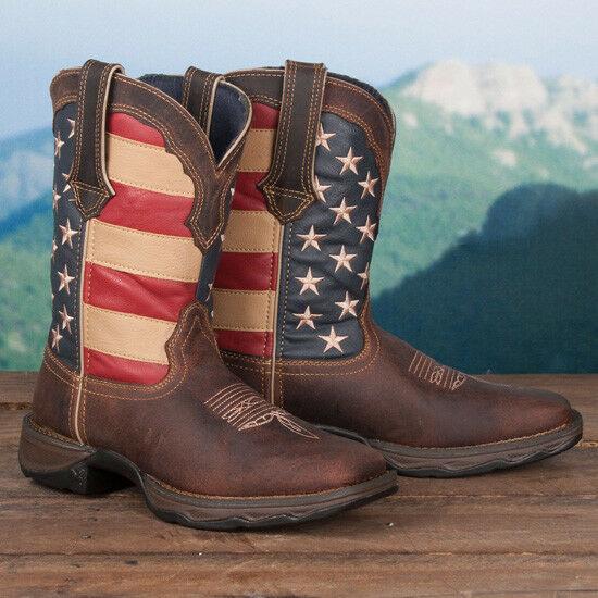 Men's/Women's Durango Ladies' Flag Boots New Listing High-quality materials Cheap order