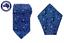 Men/'s Dark Blue Paisley 8.5CM Necktie /& Pocket Square Grooms Wedding Tie Hanky