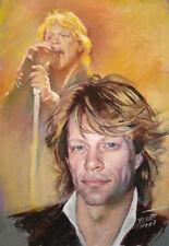 Jon Bon Jovi, art print by Star