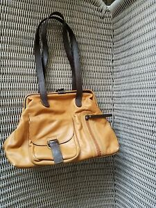 Image Is Loading Vintage Sophia Visconti Women 039 S Handbag Tan