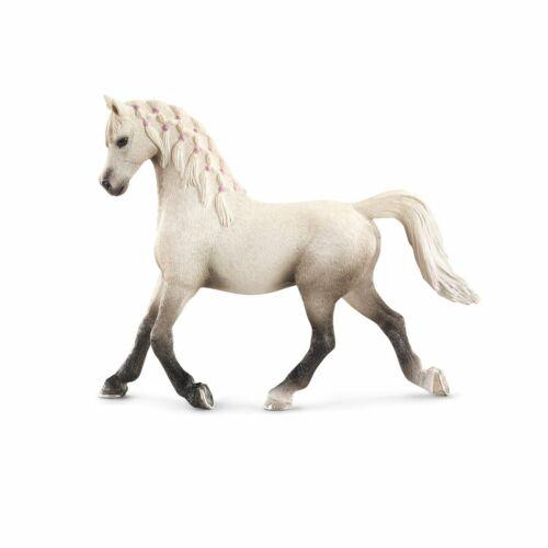 Schleich 13761 Araber Stute 1B Qualität Pferd Tier Farm weiß Reitpferd
