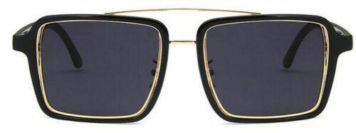 Luxury Transparent Sunglasses Square Vintage Retro Glasses Clear Fashion Eyewear