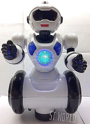 Robot Smart Dancing 360° Rotate Walking Toy 3d Multi-light & Music - Ideal Gift 100% Garantie
