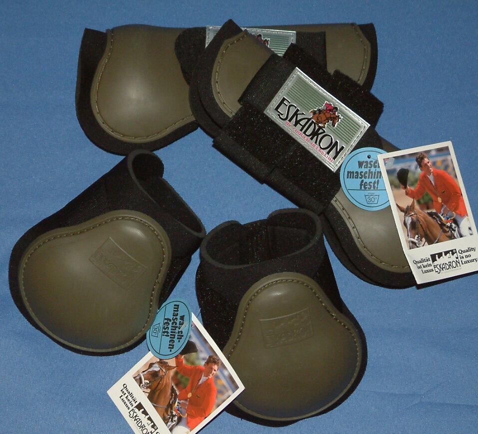 4er Set Eskadron  Protection Stiefel  Farbe mud Gr. Gr. Gr. WarmBlaut 719630
