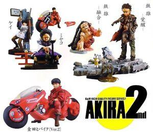 Raro-Set-5-Figura-Vehiculos-de-Juguete-Akira-Parte-2-Originales-KAIYODO-Japan