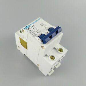 DC  2P 10A 250V   Solar Circuit breaker MCB  Air switch Flame retardan Rohs