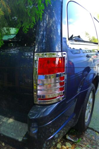 Chrysler Town and Country Dodge Grand Caravan chrome tail light bezel trim