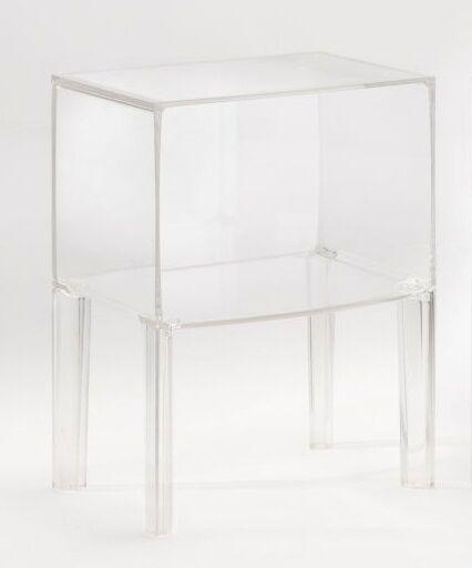 Kartell Small Ghost Buster 3220 Philippe Starck glasklar Nachttisch Kommode