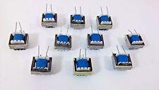 10 Pcs Great Input Transformer Coil  4 Pins/Legs Circuit Soldering  EI-16