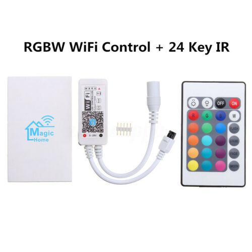 RGB RGBW Stripe LED Zubehör 12V 24V Bluetooth APP WiFi Controller Fernbedienung